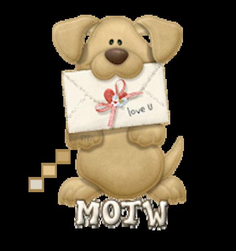 MOTW - PuppyLoveULetter