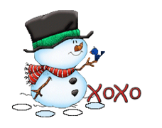 XoXo - Snowman&Bird