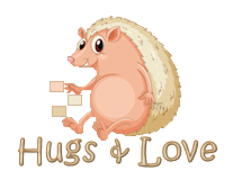 Hugs & Love - CutePorcupine