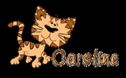 Caroline - CuteCatWalking