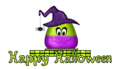 Happy Halloween - CandyCornWitch