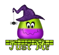 Just Me - CandyCornWitch