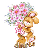 Andree (MC) - BunnyWithFlowers