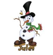Jules - Silly Snowman