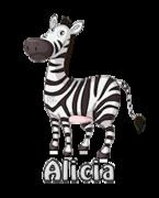Alicia - DancingZebra