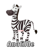Anatilde - DancingZebra