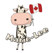 Marie-Lee - CanadaDayCow