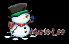 Marie-Lee - Snowman&Bird