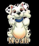 Noah - PuppyWithBone