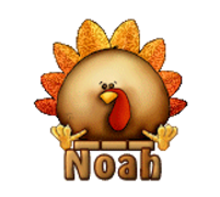 Noah - ThanksgivingCuteTurkey