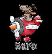 Barb - DogFlyingPlane