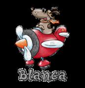 Blanca - DogFlyingPlane