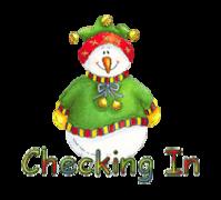 Checking In - ChristmasJugler