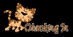 Checking In - CuteCatWalking