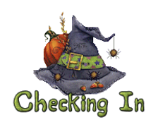 Checking In - CuteWitchesHat