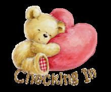 Checking In - ValentineBear2016