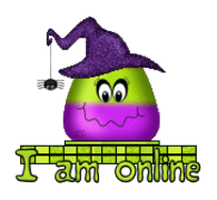 I am online - CandyCornWitch
