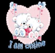 I am online - ValentineBearsCouple2016
