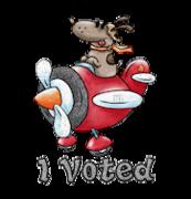 I Voted - DogFlyingPlane