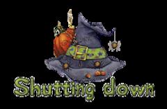 Shutting down - CuteWitchesHat