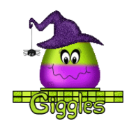 Giggles - CandyCornWitch
