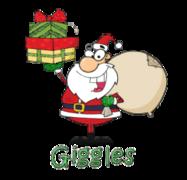 Giggles - SantaDeliveringGifts