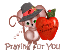 Praying for You - ThanksgivingMouse