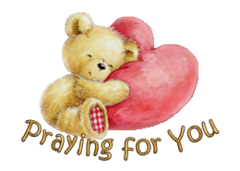 Praying for You - ValentineBear2016