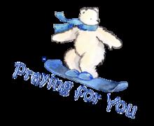 Praying for You - SnowboardingPolarBear