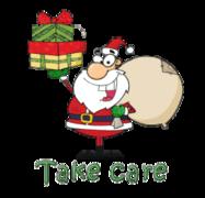 Take care - SantaDeliveringGifts