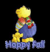 Happy Fall - BearWithTeddyBear