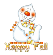 Happy Fall - CandyCornGhost