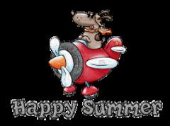 Happy Summer - DogFlyingPlane