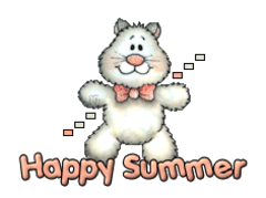 Happy Summer - HuggingKitten NL16