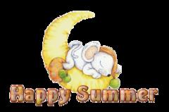 Happy Summer - MouseSleepingOnMoon