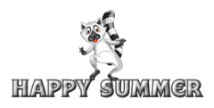 Happy Summer - RaccoonStepOnName