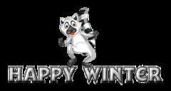 Happy Winter - RaccoonStepOnName
