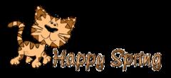 Happy Spring - CuteCatWalking