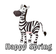 Happy Spring - DancingZebra