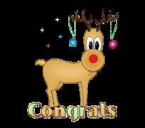 Congrats - ChristmasReindeer