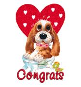 Congrats - ValentinePup2016