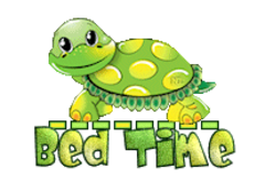 Bed Time - CuteTurtle