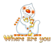 Where are you - CandyCornGhost
