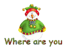 Where are you - ChristmasJugler