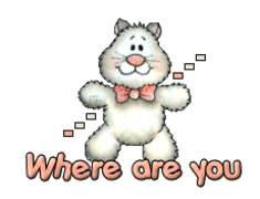 Where are you - HuggingKitten NL16