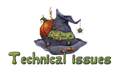 Technical issues - CuteWitchesHat
