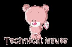 Technical issues - ShyTeddy