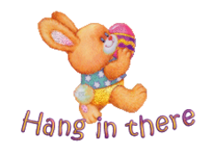 Hang in there - EasterBunnyWithEgg16