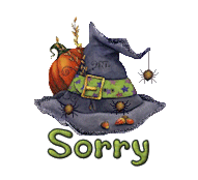 Sorry - CuteWitchesHat