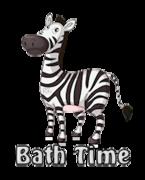 Bath Time - DancingZebra